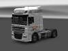 DAF XF Super Space - Resl, Transport & Servis white