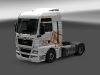MAN TGX XXL - Resl, Transport & Servis white