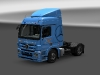 Mercedes Benz Actros High Roof Sleeper - Resl, Transport & Servis light blue