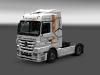 Mercedes Benz Actros Mega Space - Resl, Transport & Servis white