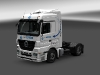 Mercedes Benz Actros Mega Space - Ewals Cargo Care white czech (Mega Trucking)