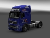 Volvo FH16 Globetrotter XL - Resl, Transport & Servis blue