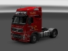 Volvo FH16 Globetrotter XL - Resl, Transport & Servis red